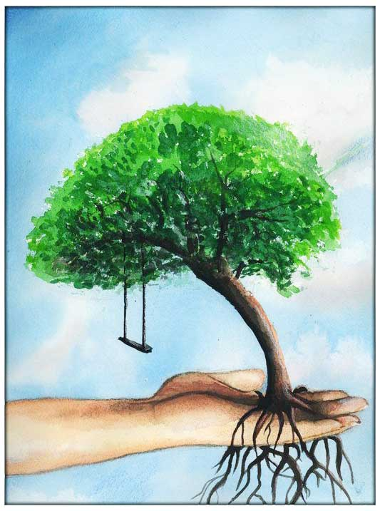 एक पेड़ The Tree for Environment